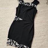 Лето - время платьев! 34-36р. Фигуристое платье со вставками Lipsy