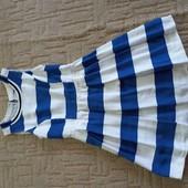 Платье в морском стиле, XS