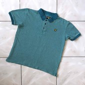 Стоп ,плотная❤ Фирменная коттоновая футболочка/ поло для парня-подростка,14-15 лет❤ Много лотов!