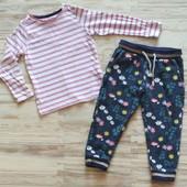 Шикарные фирменные штаны и реглан девочке 2-3 лет. Отличное состояние. Сотни лотов.