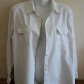 Рубашка белая, размер EUR 40