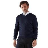 ⚙ Стильний пуловер, 100% шерсть (Меринос) від Tchibo (Німеччина), р: 46/48/50 (48 євро), див. заміри