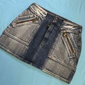 Стильная джинсовая юбочка! S,M(44-46)!!