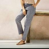 Стильные льняные брюки Esmara L evro 46+6