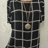 На пышные формы! Шикарная нарядная блуза футболочка расшита бисером и бусинами , на лёгком подкладе