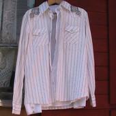 рубашка нарядная L Турция магазин Zakkaz