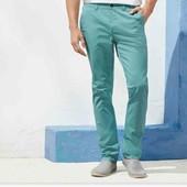 livergy.стильные брюки чиносы slum fit 52(36)замеры