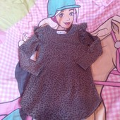 Стоп!!фирменное удобное яркое платье- туника