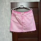 Фирменная джинсовая юбка, редкий размер 52-54. Новая.