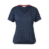 ☘ Стильна, якісна блуза з візерунками, Tchibo (Німеччина), р.: 54-56 (48/50 евро)