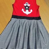 трикотажна сукня на 9-10 років