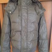 Куртка, на осень, 80%пух+20%перо, р. S. Diesel. состояние отличное