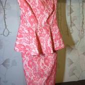 Шикарное кукольное платье из плотного трикотажа Хс, С
