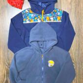 Куртка трансформер ветровка+толстовка детская на мальчика от young style.польша.размер 134.
