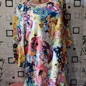 Новое, эксклюзивное платье натуральная вискоза, плотный шифон
