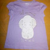 р. 98-104, модная футболка хлопок Disney, Германия