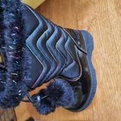 Тепленькі чобітки для дівчинки