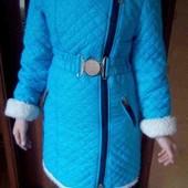 Классное пальто на девочку!!!