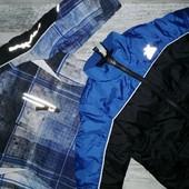 Фирменная курточка 3 в1 и полукомбинезон на 3 года