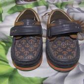 Туфли-мокасины в садик!