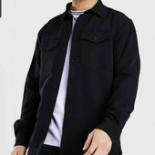 C&A теплая котоновая рубашка М-L