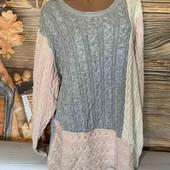 Вау! Обалденный тёпленький свитер размер 62/64