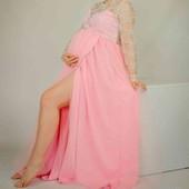 Шикарна сукня для вагітних
