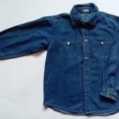 Джинсовая Рубашка для мальчика!!!