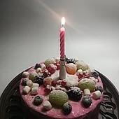 Незабываемое праздничное настроение!Музыкальная свеча на тортик /день рождение/. 1шт.