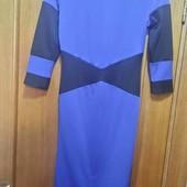 Новое платье из трикотажа р.S
