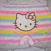Трусики шортиками на 4-5лет Hello Kitty (нюанс)