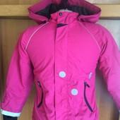 термо Куртка, на осень, внутри флис, H&M.состояние отличное