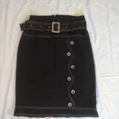 Очень красивая стильная юбочка с поясом✓Как новая✓Много лотов✓