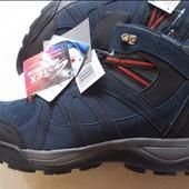 Трекинговые зимние ботинки натуральный замш Crivit 44р Германия, waterproof