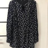 ☘ Яскісна стильна блуза від Tchibo (Німеччина), р.: 54-56 (48/50 евро)