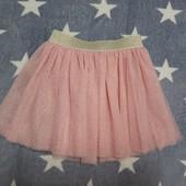 Новая фатиновая юбка на 2-4 года. Сток