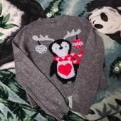 Теплый красивый свитерок, смотрите ещё мои лоты найдете много интересного