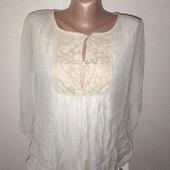 Блуза на девочку подростка ( по бирке С) замеры на фото