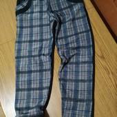 Класнючі штанці-лосини на флісці