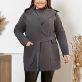 !!! Пальто с капюшоном 58 размера !!! Читаем внимательно лот!! Собираем лоты!!