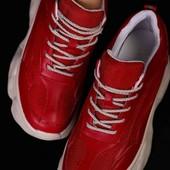 кроссовки женские на платформе, сникерсы , 36-23,5см, мега классные на ножке, распродажа