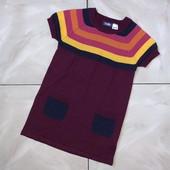 Стоп ,яркое стильное❤ Фирменное трикотажное платье для девочки,3-4 года❤ Много лотов!