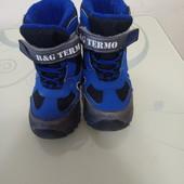 Зимние ботинки для мальчика B&G-termo
