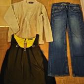 Джинсы фирменные, блузка новая, свитер на 48-52рр.В лоте 1 вещь