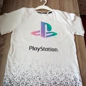 Стоп!! Фирменная удобная яркая натуральная красивая стильная футболка