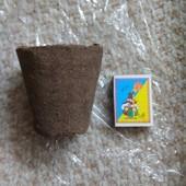 Торфяные горшочки 80х80 60 шт. в лоте