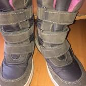 сапоги, чобітки, ботинки, ботики, еврозима, p. 32 встелька 19,5 см, Sympa Tex. состояние отличное
