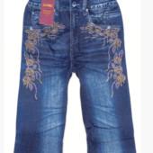 Махровые лосины отличного качества эмитация под джинсы!!Размер 48-52!Укр почта 5% скидка!