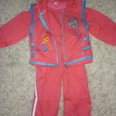 Спортивный костюм на 1-2 года для девочки новый