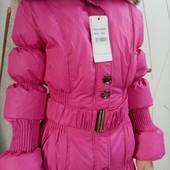 Куртка натуральный пуховик новый 138-152